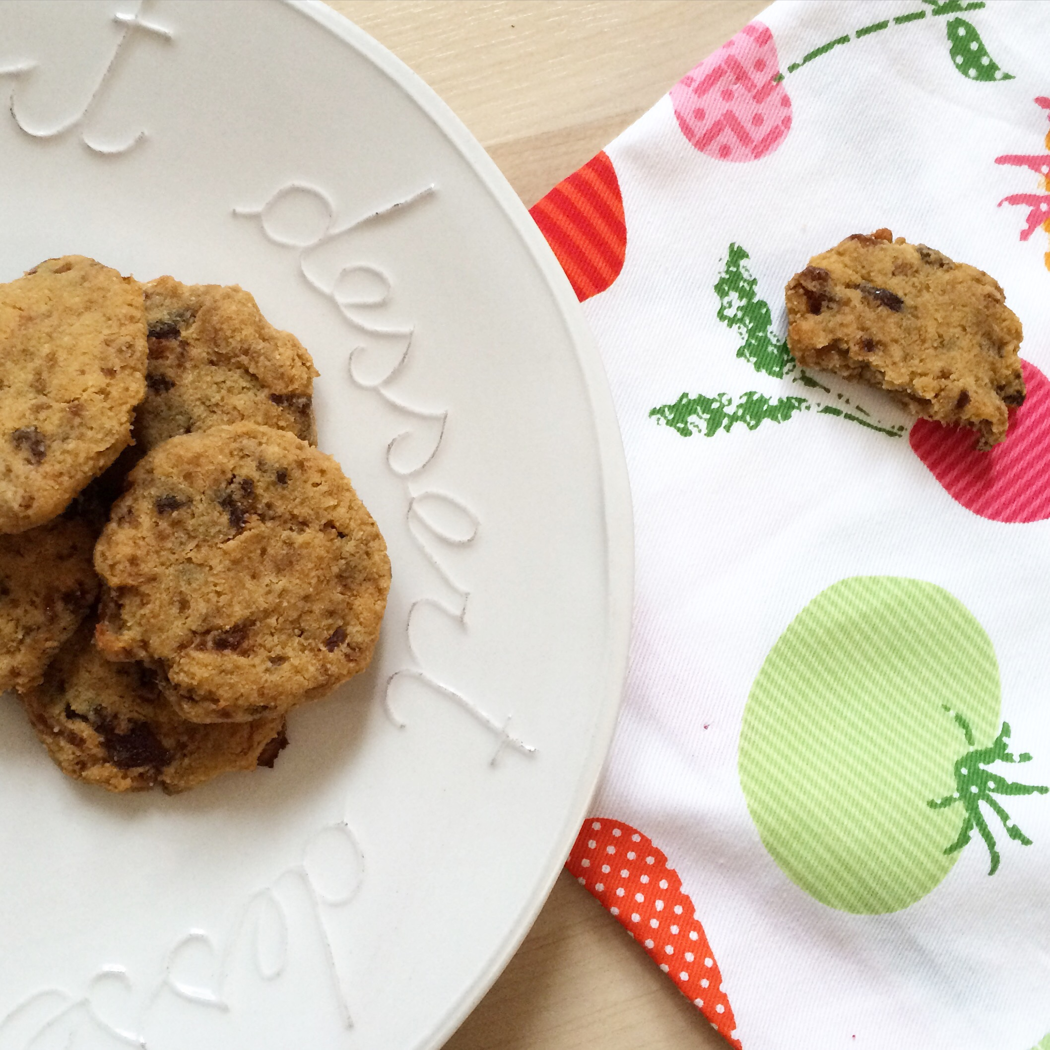 Delicious, chewy, apricot AIP cookies - yum!
