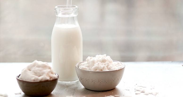 How to Make Coconut Milk and Coconut Cream From Dried Coconut