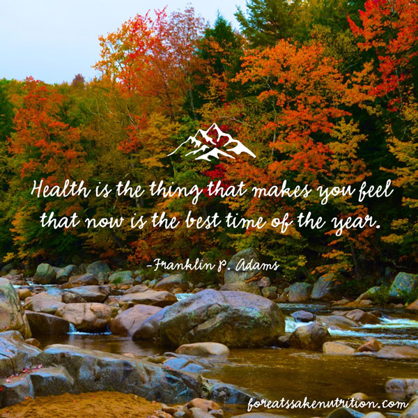 health is the thing that makes you feel that now is the best time of the year franklin adams