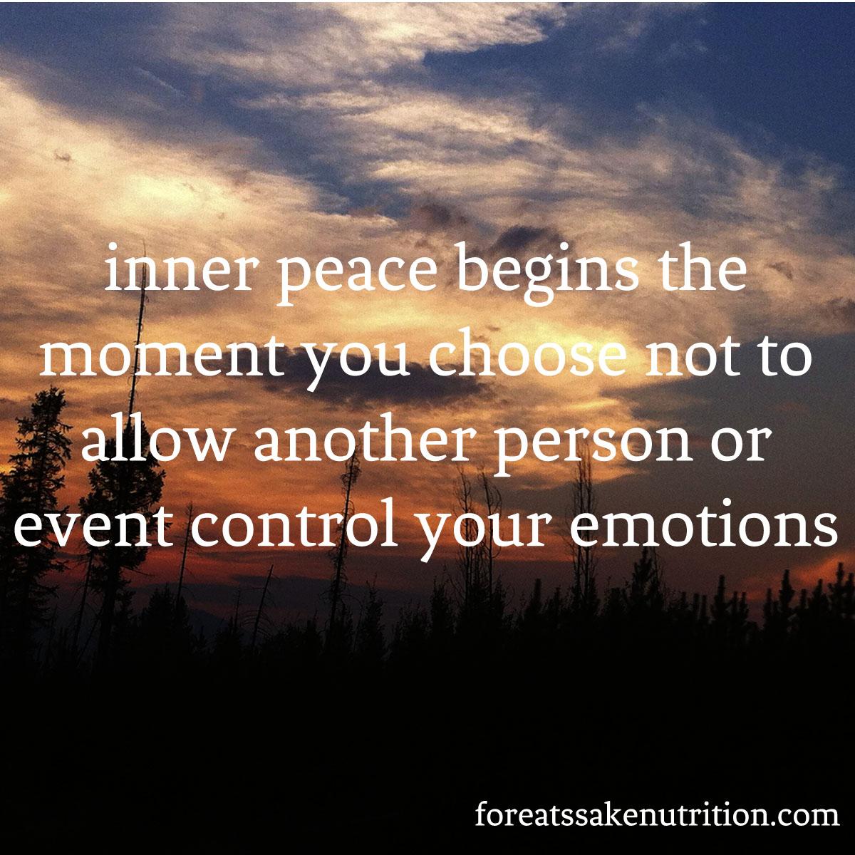 glacier inner peace emotions