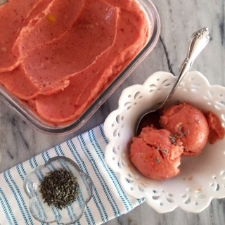 Watermelon Fruit Punch Vegan Nice Cream