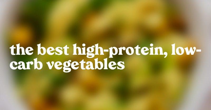 High Protein Vegan Keto Vegetables